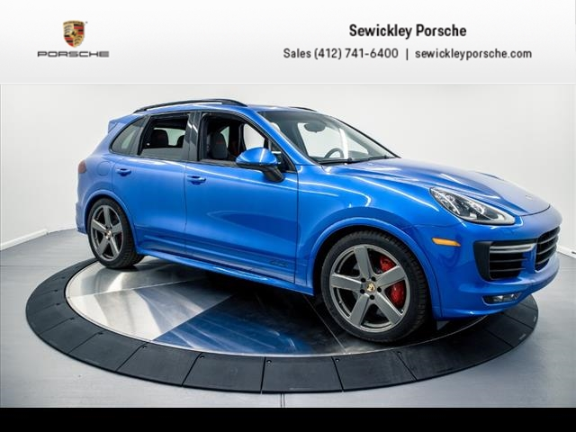 new 2017 porsche cayenne gts awd gts 4dr suv in sewickley #p83833