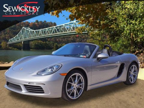 Certified Pre-Owned 2018 Porsche 718 Boxster Base